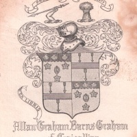 the Bookplate of Allan Graham Barns-Graham