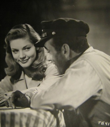 Lauren Bacall and Bogey